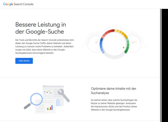 Google SearchConsole